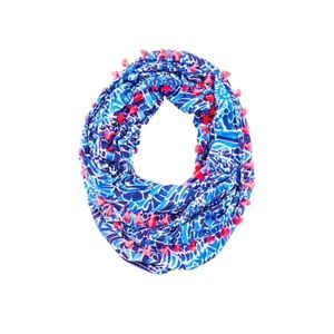 Lilly Pulitzer Accessories - Riley infinity loop scarf taverna tile